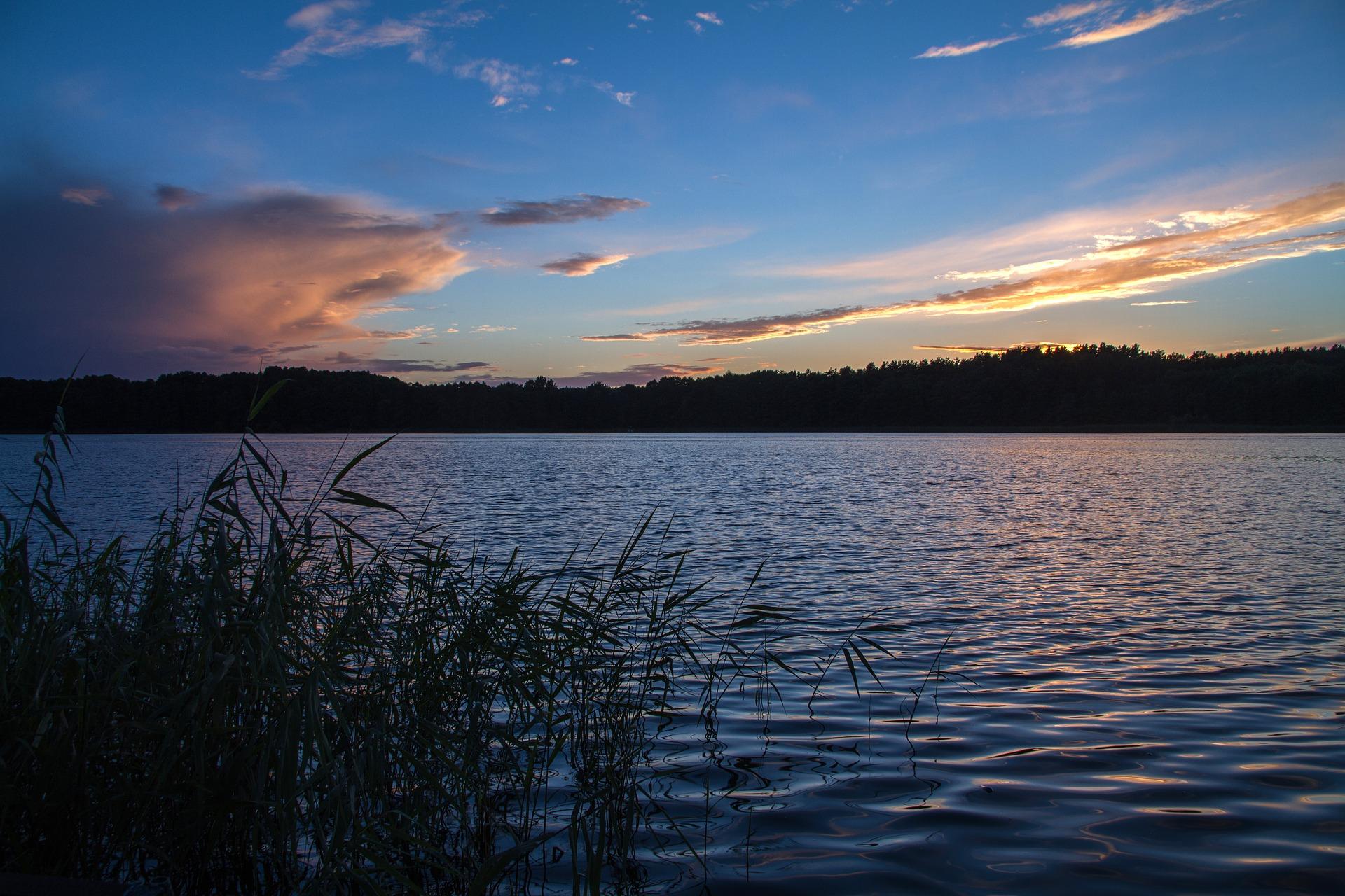 Sonnenuntergang Müritz